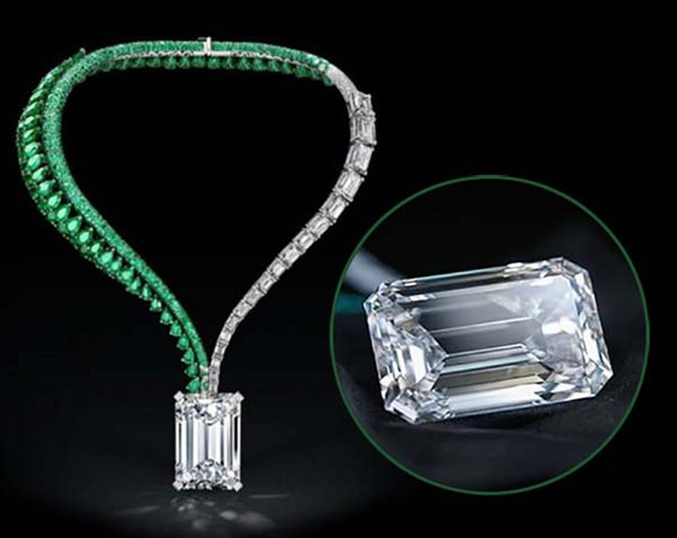 Largest D-Flawless Diamond Ever to Appear at Auction Fetches $33.7 Million at Christie's Geneva