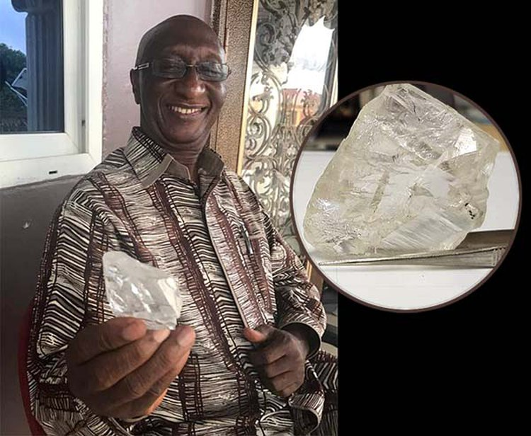 Sierra Leone Yields Second Massive Diamond of 2017; This One Weighs 476.7 Carats