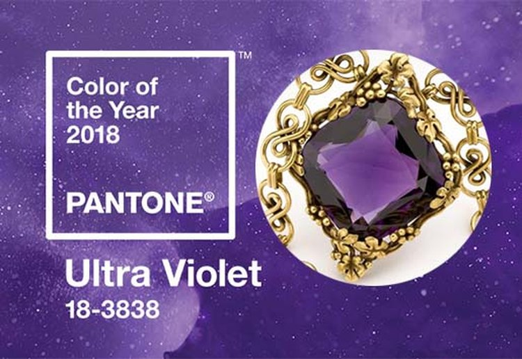 'Ultra Violet' Is Pantone's 2018 Color of the Year and We're Excited by the Possibilities