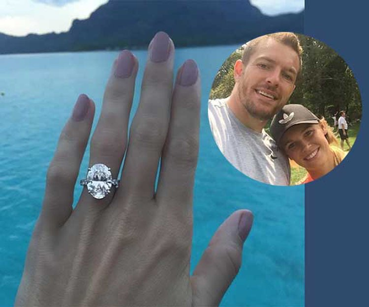Hoop Star David Lee Picks 8.88-Carat Diamond Ring for Tennis Champ Caroline Wozniacki; Here's Why