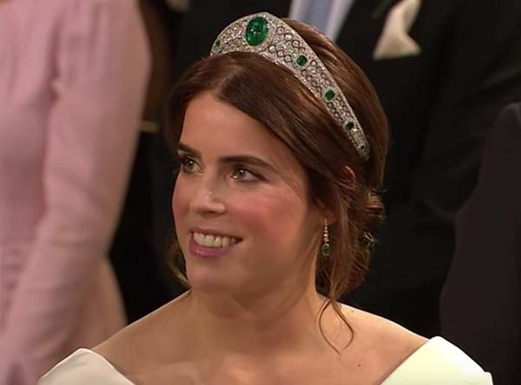 Greville Emerald Tiara Takes Center Stage at Princess Eugenie's Royal Wedding