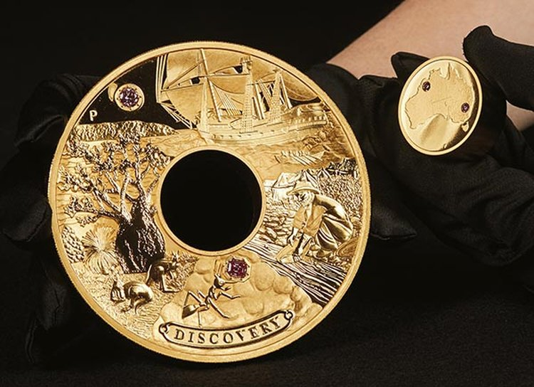 $1.7 Million 'Discovery' Coin Pays Tribute to Early Prospectors of Aussie Gold and Diamonds