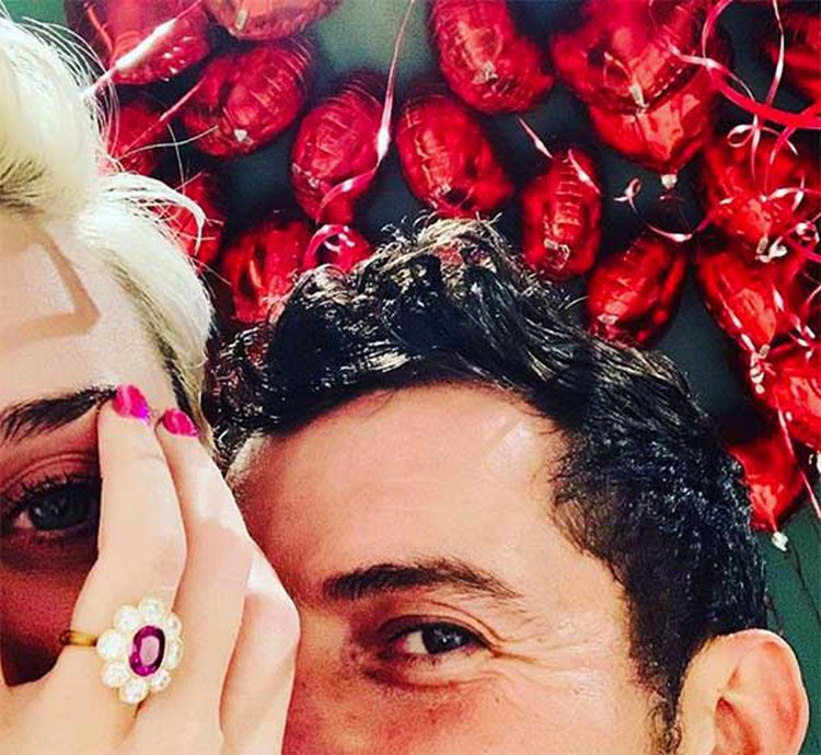 Katy Perry's New 'Full Bloom' Engagement Ring Complements Her Colorful Style