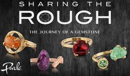 Sharing The Rough Jewelry Collection by Parle Logo